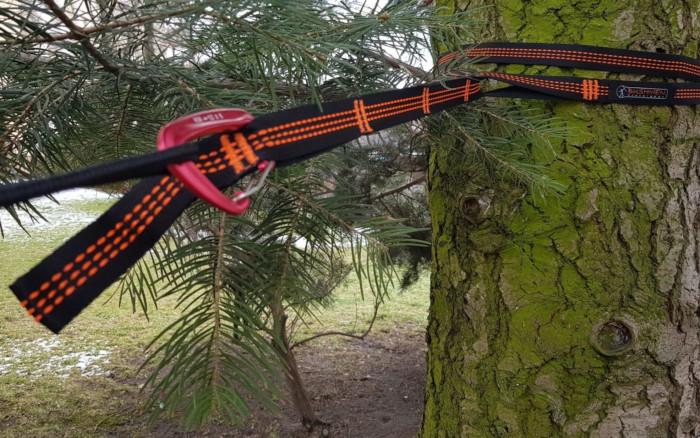 Baumgurte outdoor Hängematte aufhängen