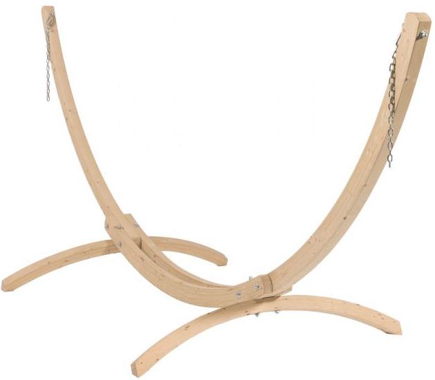 Hängematte mit Gestell Holz - Wood