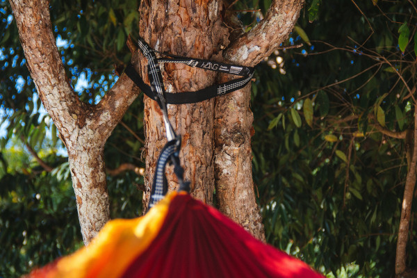 outdoor Hängematte Aufhängung mit Baum- Bändern