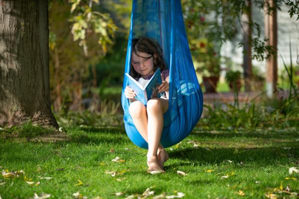 Lesen im Freien - Kinder - Hängehöhle outdoor