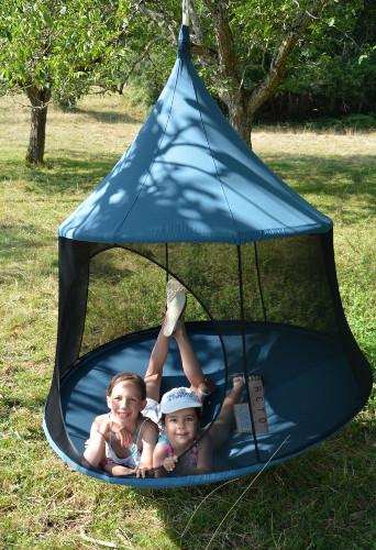 Hängehöhle outdoor Familie
